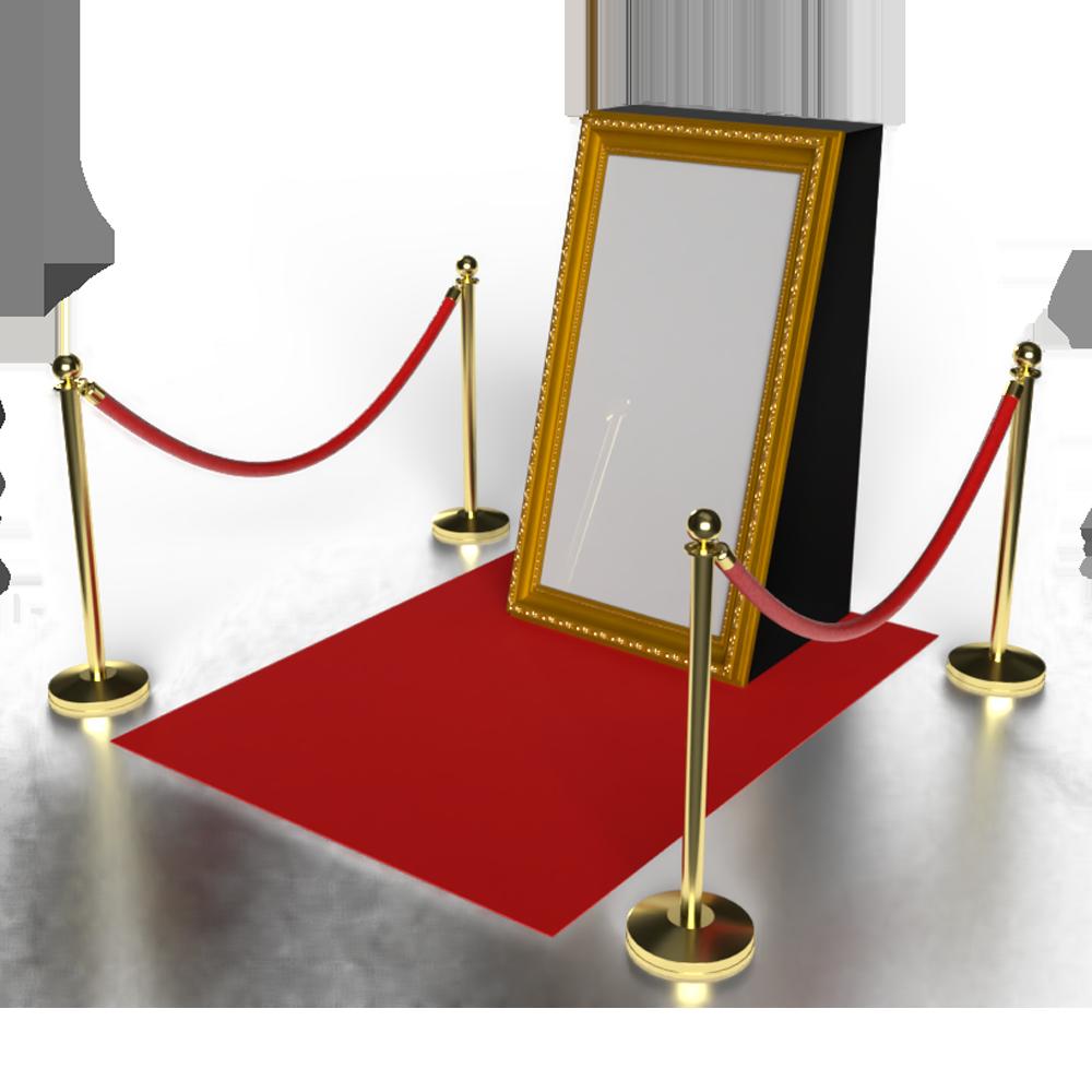 Le Miroir Défipix, photobooth ou photomaton, personnalisable à impression instantanée